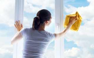 Как убрать разводы со стекла?