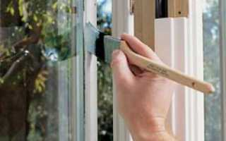 Как правильно покрасить деревянное окно