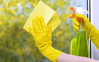 Чем лучше мыть окна квартиры