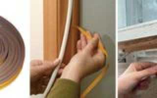 Утепление деревянных окон своими руками