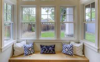 Модели пластиковых окон для частного дома