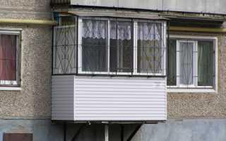 Можно ли сделать балкон на первом этаже