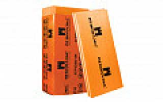 Пеноплекс коэффициент теплопроводности