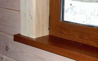 Как отделать окна в деревянном доме снаружи