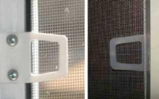 Как починить сетку на пластиковое окно
