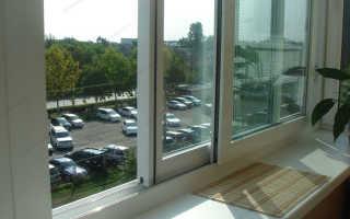 Раздвижные металлопластиковые системы для балконов и лоджий