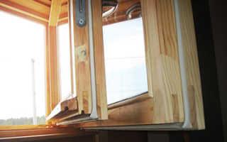 Утепление деревянных окон на зиму