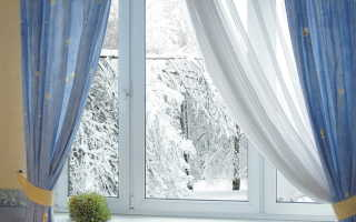 Можно ли менять окна зимой
